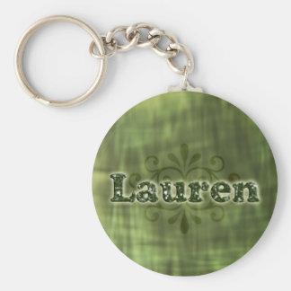 Green Lauren Keychains