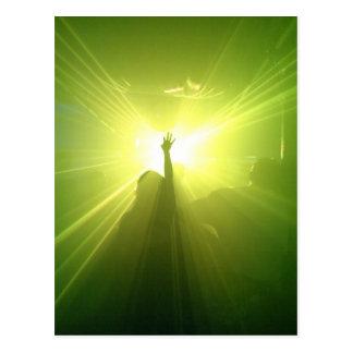 Green Lazerz Postcard