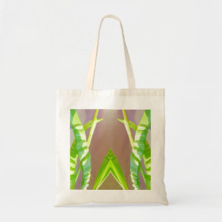 Green Leaf Abstract Bag