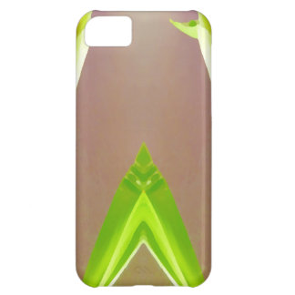 Green Leaf Abstract. iPhone 5C Covers