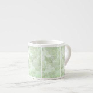 Green Leaf Background Espresso Mug