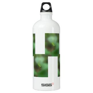 Green Leaf Blurred Background; No Greeting SIGG Traveler 1.0L Water Bottle