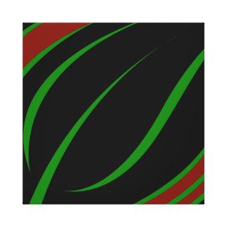 Green Leaf Canvas Canvas Print