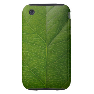 Green Leaf iPhone 3 Tough Covers