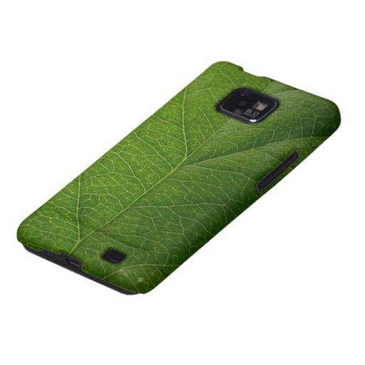 Green Leaf Samsung Galaxy S Covers