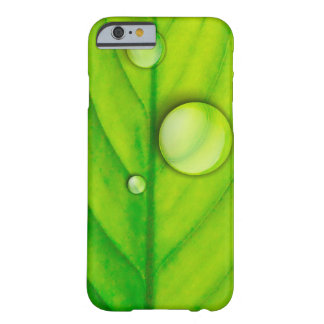 Green Leaf Case Barely There iPhone 6 Case