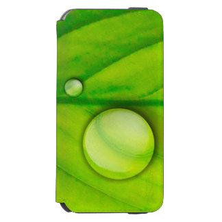 Green Leaf Case Incipio Watson™ iPhone 6 Wallet Case