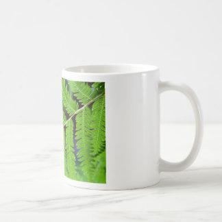 Green Leaf Closeup Basic White Mug