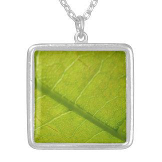 Green Leaf Design Necklace