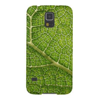 Green Leaf. Digital Art. Case For Galaxy S5