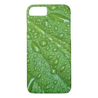 GREEN LEAF DROPS iPhone 7 CASE