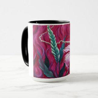 Green Leaf Hot Mug