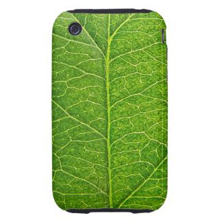 green leaf iPhone 3 tough case
