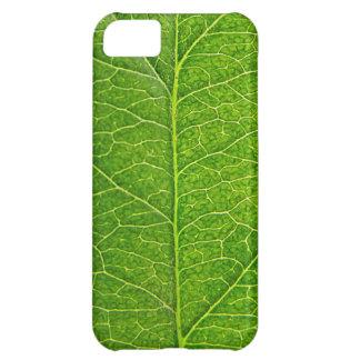 green leaf iPhone 5C case