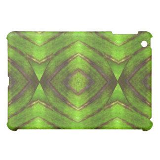 Green Leaf Kaleidoscope iPad Case