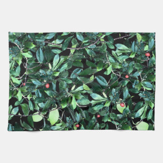 Green Leaf Kitchen Towel