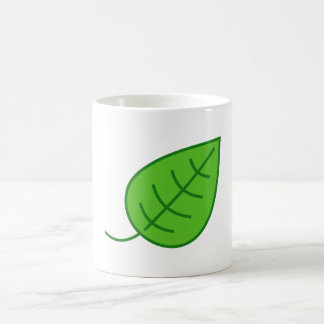 Green Leaf Mugs