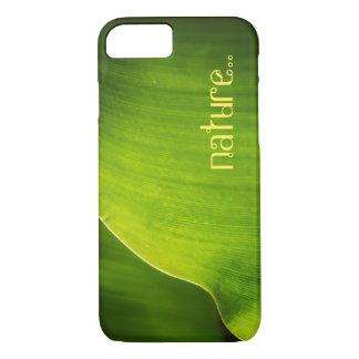 Green leaf Nature iPhone 7 case