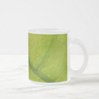 Green Leaf Nature Mug