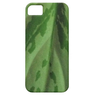 green leaf organic pattern iPhone 5 case