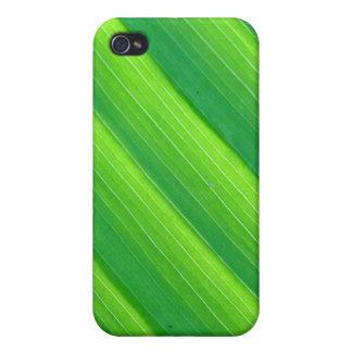 Green Leaf Pattern iPhone 4 Case