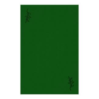 Green leaf Stationary Stationery Paper