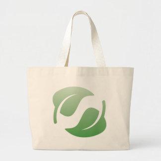 green leafs bags