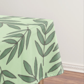 Green Leafs Tablecloth