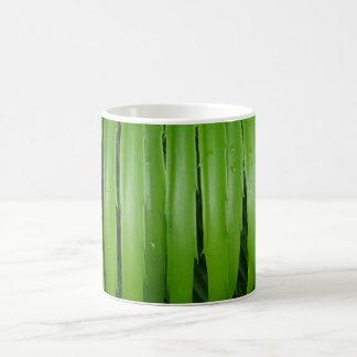 Green Leafs White Coffee Mug