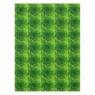 Green Leafy Succulent Tablecloth
