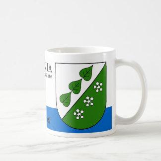 Green Leaves & Blossoms from Sigulda Latvia Coffee Mug