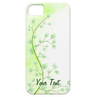 Green Leaves - Customize Case For The iPhone 5