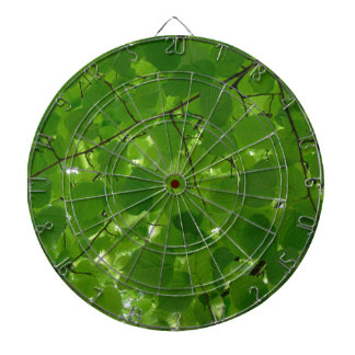 Green Leaves Dartboard