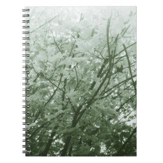 Green Leaves II Notebooks