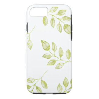 Green Leaves iphone 7 Case Cell Phone Cover