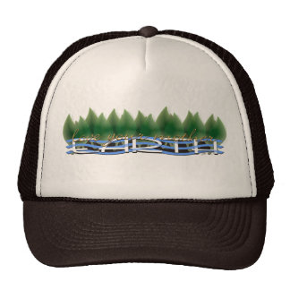 Green Leaves Love Your Mother Earth Trucker Hats