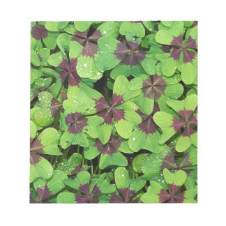 Green Leaves Notepad