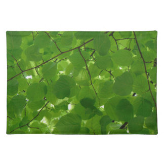 Green Leaves Placemat