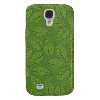 Green leaves samsung galaxy s4 cover