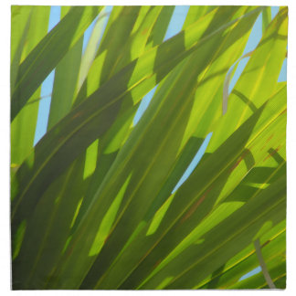 Green Leaves, Sunlight and Blue Sky Napkin