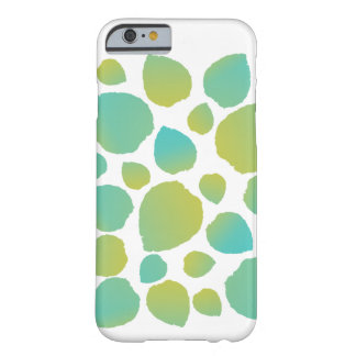 Green Leaves Watercolor Pattern Barely There iPhone 6 Case