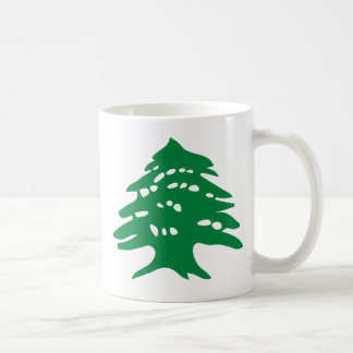 Green Lebanon Cedar Coffee Mug