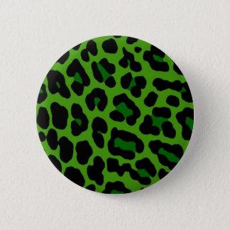 Green Leopard Pin