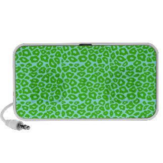 Green Leopard Portable Speakers