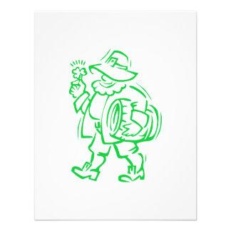 Green Leprechaun Invites
