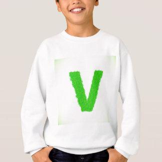 green letter sweatshirt