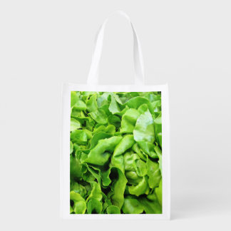 Green Lettuce Reusable Grocery Bag