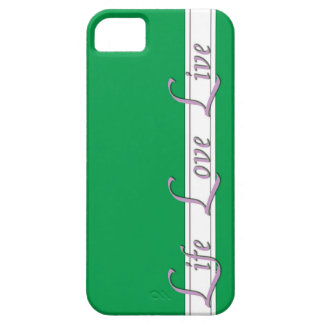 Green Life style iPhone 5 Cases