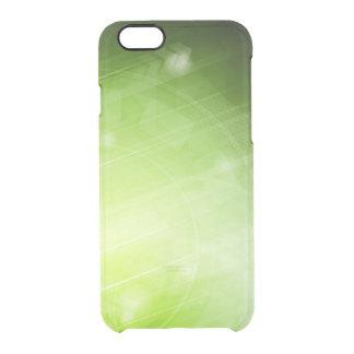 Green light design in hi-tech style