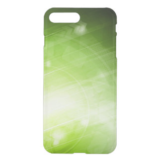 Green light design in hi-tech style iPhone 7 plus case